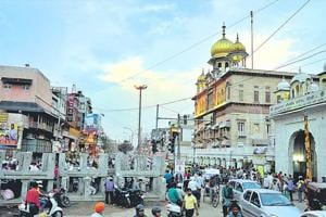 Civic body officials say the drive will ensure that the classical architecture in the area remains intact. Many buildings in the area are more than 200 years old (HT File Photo)