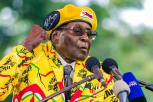 After 37 years, Zimbabwe's Robert Mugabe fired as ruling party leader:...