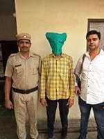 The police identified the gangster as Ram Singh, a resident of Chakia, in Bihar's Motihari district. It is located 150km from state capital Patna.