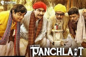 Panchlait movie review: The film is based on Phanishwar Nath Renu's short story by the same name.