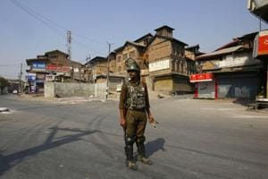 Restrictions in parts of Srinagar in view of recent anti-militancy...