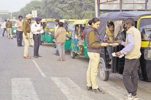 Chandigarh police goes on verification drive, checks 2,000 autos