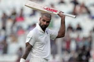 Shikhar Dhawan misses ton by whisker, puts India in control vs Sri...