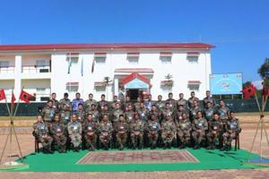 First Indo-Myanmar joint military exercise begins in Meghalaya
