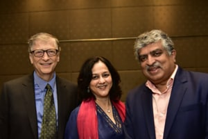 Nandan Nilekani, wife Rohini join 'The Giving Pledge' philanthropy...