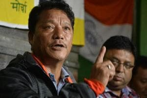 Gorkhaland  row: Gurung and his men suspended from GJM, Tamang  takes...