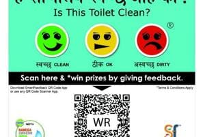 Dirty toilets at local railway stations in Mumbai? Give feedback using...