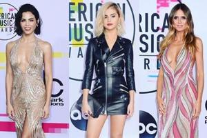 Red carpet style: The best fashion from the American Music Awards in...