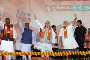 Gujarat elections: BJP drops 15 MLAs, including 3 ministers, in third...