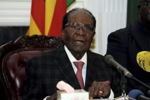 Zimbabwe President Robert Mugabe has drafted resignation letter, says...