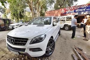 Gurgaon police hunt for owner of Mercedes that killed 4-year-old girl