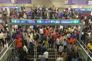 Police personnel will now be present at booths at 23 Metro stations from 9am to 5pm. The facility will be made round-the-clock later and extended to all stations.