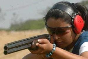 Shreyasi Singh had earlier won the bronze medal in women's trap event.