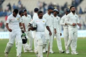 Kolkata Test: Late Indian onslaught goes in vain as Sri Lanka eke out...