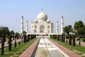 The proposed multi-level parking  at the Taj Mahal entails cutting down 11 trees.