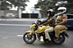 Delhi Police's women squad on mobikes will fight street crimes