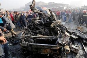 At least 21 killed in car bomb in town north of Baghdad