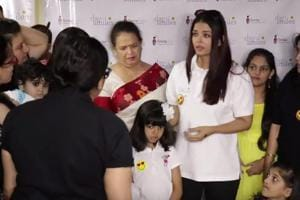 Aishwarya Rai tears up as she scolds paparazzi for screaming in a...