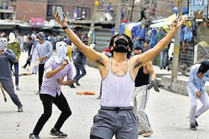 The Valley went through an intense phase of stone pelting after the killing of Hizbul Mujahidin militant commander Burhan Wani last July.