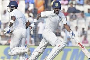 Sri Lanka clung on to draw the first Test against India after...