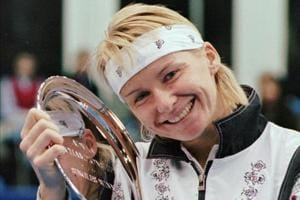 Former Wimbledon champion Jana Novotna has died at the age of 49. A...