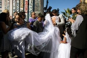 Photos | Love beyond borders: US-Mexico gates open to reunions, a...