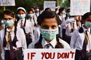 Delhi pollution: Govt urges parents to restrain students from outdoor...
