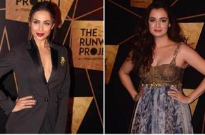 Malaika Arora is a total babe in sexy pantsuit but it is Dia Mirza's...