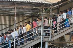 Elphinstone Road ticket counter to make way for wider steps