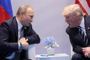 Trump, Putin reaffirm commitment to peacefully resolving Syrian civil...