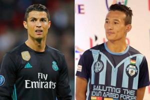 Cristiano Ronaldo inspired Chencho Gyeltshen to take up football