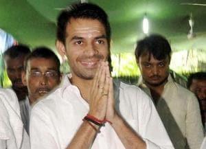 Lalu's son Tej Pratap threatens to 'thrash' Bihar Dy CM Sushil Modi,...