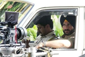Saif Ali Khan shoots for Netflix's first Indian original series,...