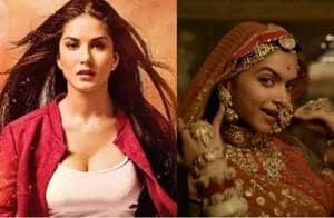 Sunny Leone takes Deepika Padukone's slot: Not Padmavati, Tera...