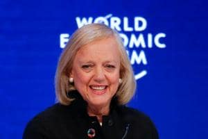 Meg Whitman will be replaced by Antonio Neri in February, 2018.