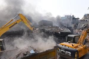 The bleak scenario was underlined on Tuesday, a day after a fire-induced collapse of a building in Ludhiana took at least 13 lives.