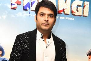 Kapil Sharma thanks Amitabh Bachchan for lending his voice to Firangi