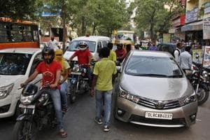 53 vehicles seized in joint drive against illegal parking in Delhi