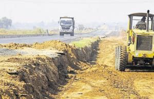Work on Kundli-Ghaziabad-Palwal Expressway halted as farmers demand...