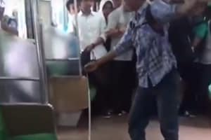 Caught on cam: Indonesian man kills snake with bare hands