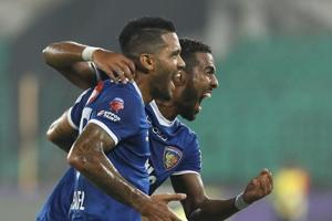 Chennaiyin FC blank NorthEast United FC to score first Indian Super...