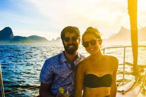 This US couple had the most epic honeymoon in Brazil. See pics