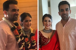 Sagarika Ghatge, Zaheer Khan are married now. See pics