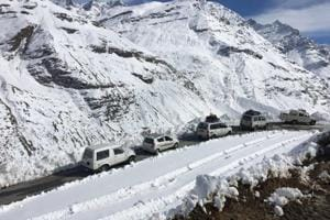 Border Road Task Force commander AK Awasthi said that the snow clearing operations were a great challenge