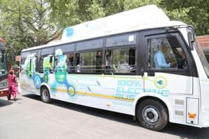 Going green: Chandigarh to buy 20 electric buses; 40 'super luxury'...