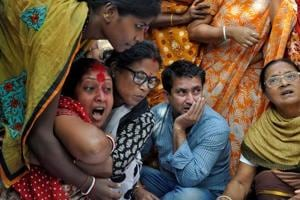 Photos: Shutdown in Tripura over journalist's murder, opposition...