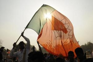 BJP youth leader arrested in Kolkata for defacing Biswa Bangla logo