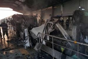 Mumbai Monorail is a death trap during fires, say experts