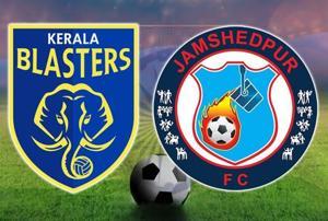 Live - ISL, Kerala Blasters FC vs Jamshedpur FC live score
