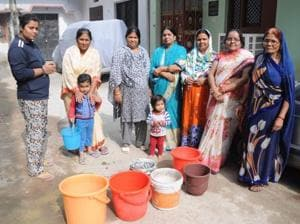 Water crisis in Indira Nagar and Chinhat has become a routine affair after the closure of Sharda Canal for repairs and Kathauta lake going dry.
